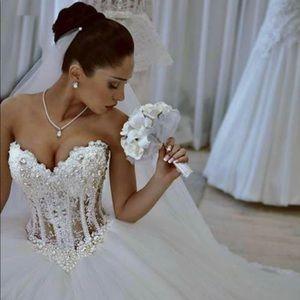 Women sexy wedding dress